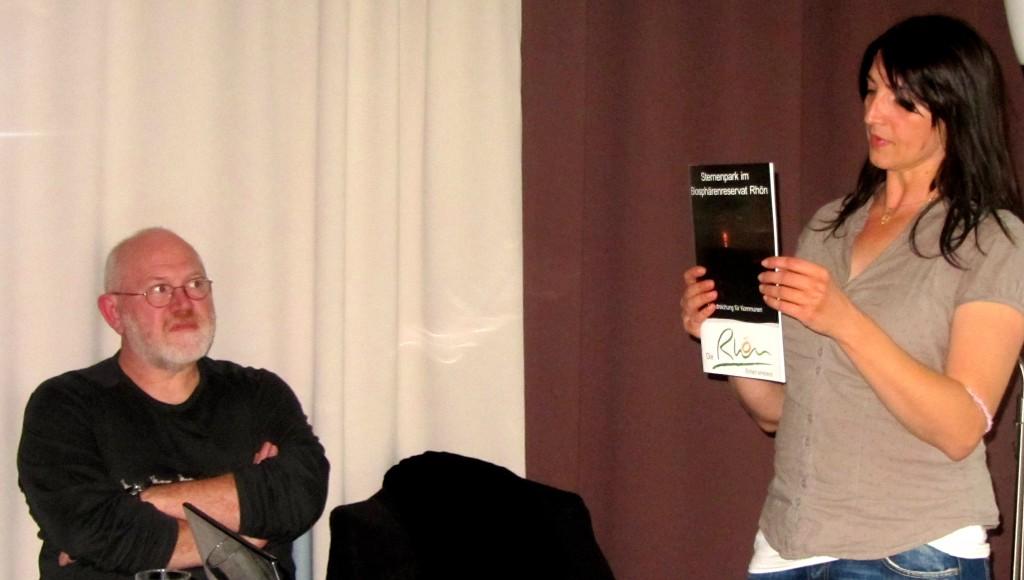 Sabine Frank und Dr. Martin Jatho