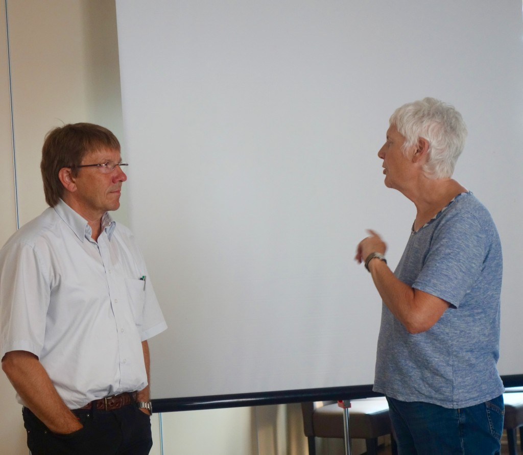 Dr. Uwe Paar im Gespräch mit Dr. Jutta Kneißel