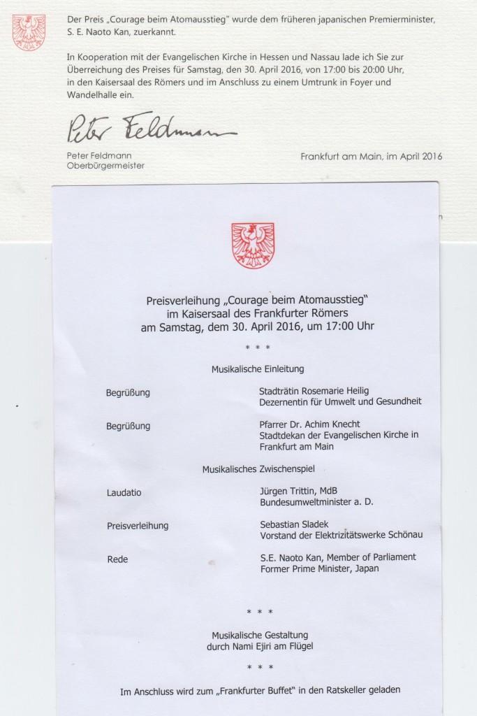 Einladung und Programm