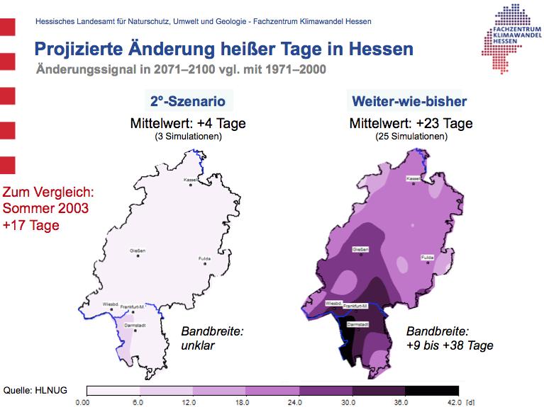Heiße Tage Hessen