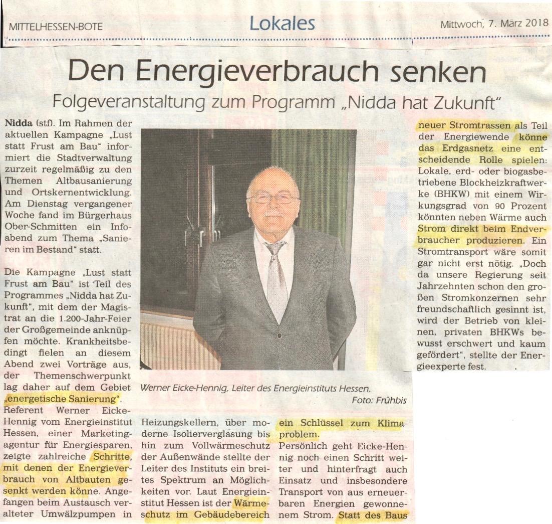 Energieverbrauch senken Bote 7.3